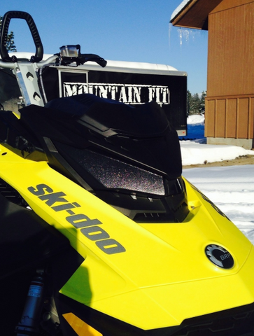 Mountain Fit Skidoo Gen 4 Headlight Delete - Menztoys - [product_type] - Specialty Motorsports