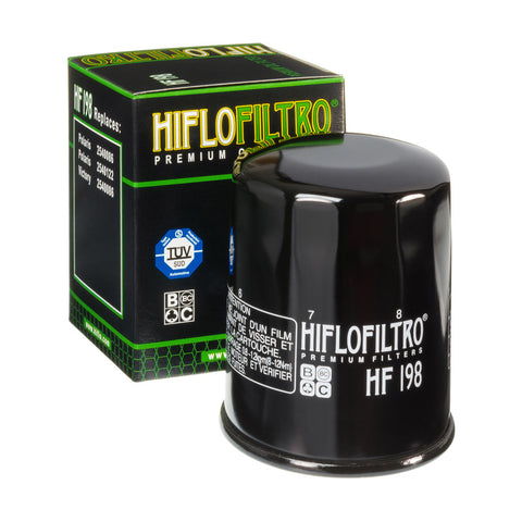 Hiflow, Oil Filter HF198, [product_type],  [variant_title] - Specialty Motorsports
