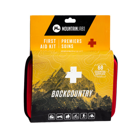 Backcountry First Aid Kit - Mountain Sports Distribution - [product_type] - Specialty Motorsports