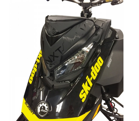 Skinz Protective Products, Next Level Windshield Pack-Skidoo-2017-2019 850-Black, [product_type],  [variant_title] - Specialty Motorsports