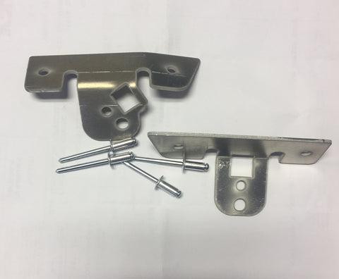 North Fork Industries, Ski Doo 850 Door Latch Brackets, [product_type],  Aluminum - Specialty Motorsports