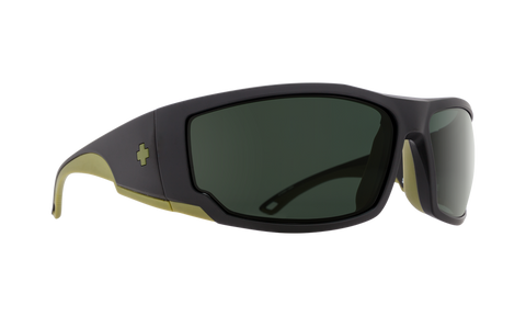 Spy Optics Tackle Matte Black Olive Happy Gray Green - Spy Optics - [product_type] - Specialty Motorsports