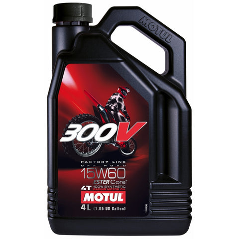 Motul, 300V Factory Line Off Road 15W60 - 4L, [product_type],  [variant_title] - Specialty Motorsports