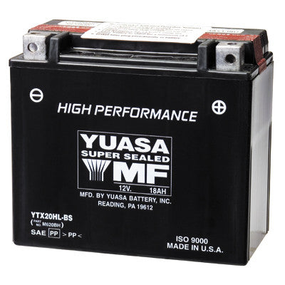 YTX20HL Yuasa Battery - Yuasa - [product_type] - Specialty Motorsports