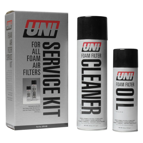 UNI, Uni Filter UFM-400 Filter Oil and Cleaner Service Kit, [product_type],  [variant_title] - Specialty Motorsports