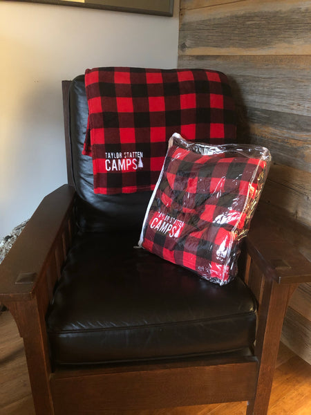 TSC Buffalo Check Cabin Throw