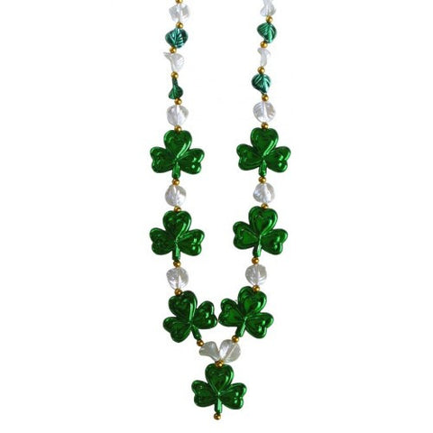 St.Patrick's Day Shamrock Bead - Poree's Embroidery