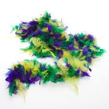 Mardi Gras Feather Boa