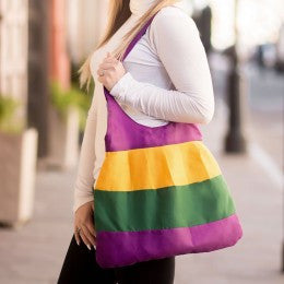 Mardi Gras Ladies Hobo Bag