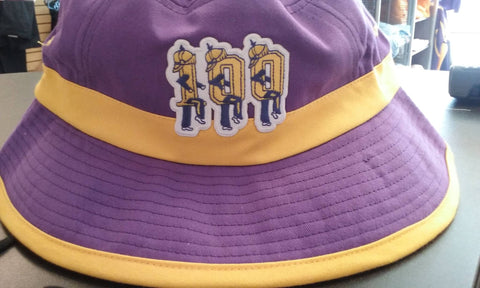 St. Augustine Marching 100 Logo Bucket Cap - Poree's Embroidery