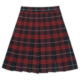 Plaid #37 Skirt (Red/Blue Plaid Skirt) - Poree's Embroidery