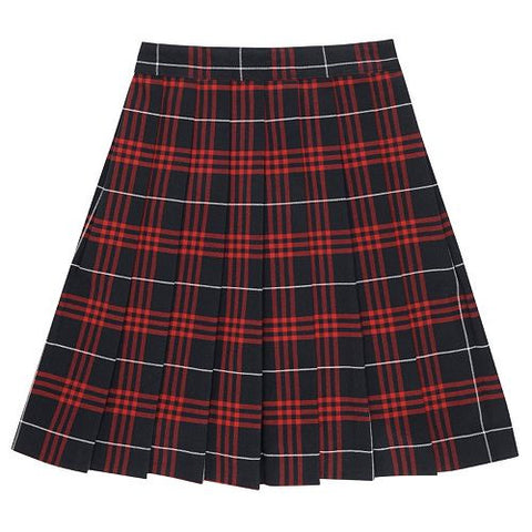 Plaid #37 Skirt (Red/Blue Plaid Skirt)