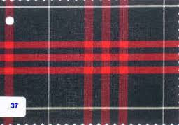 Juniors Navy/Red Plaid #37 Pants - Poree's Embroidery