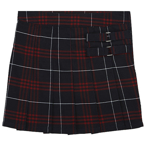 Girls Plaid #37 Skort - Poree's Embroidery