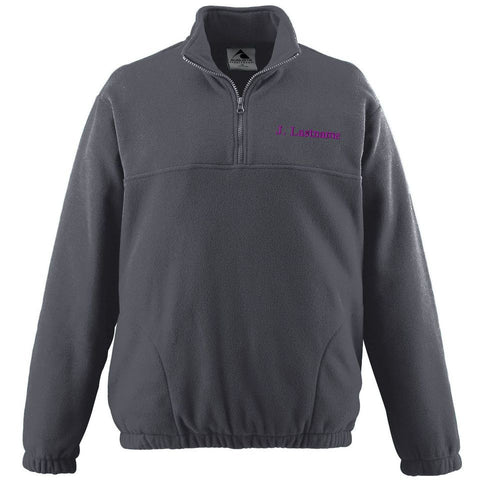 St. Augustine Fleece Pullover Jacket - Poree's Embroidery