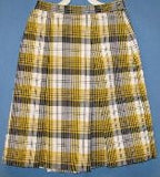 Plaid Skirt - Poree's Embroidery