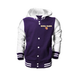 Edna Karr Fleece Letterman Jacket (2 Styles) - Poree's Embroidery