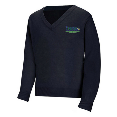 International High School of New Orleans V-Neck Sweater