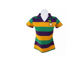 Mardi Gras Ladies V-Neck Polo (Slim Fit)