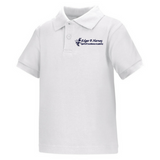 Edgar P. Harney Elementary School Polo Shirt (White) - Poree's Embroidery