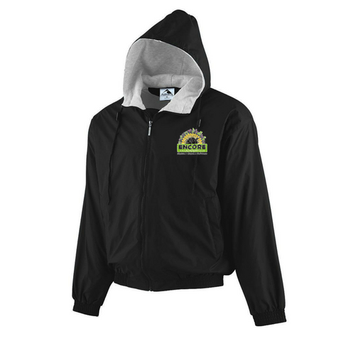 Encore Academy School Hooded Jacket - Poree's Embroidery