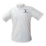 Christ First Christian Academy Oxford Shirt (High School) - Poree's Embroidery