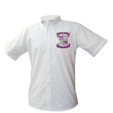 Warren Easton Oxford Shirt (Crest Logo) - Poree's Embroidery
