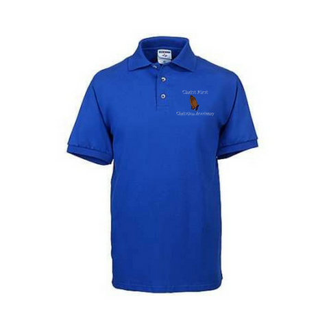 Christ First Christian Academy Polo Shirt (Elementary School) - Poree's Embroidery