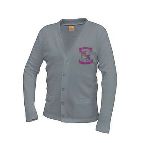 Warren Easton Grey Cardigan Sweater