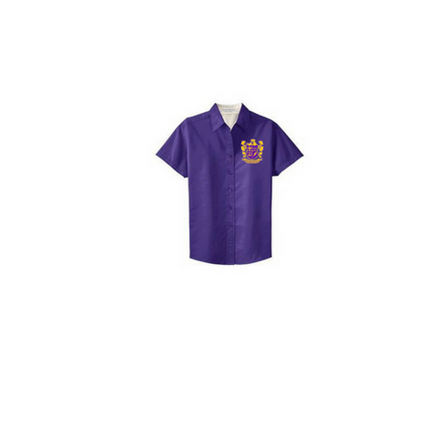 Edna Karr Ladies Twill Shirt - Poree's Embroidery