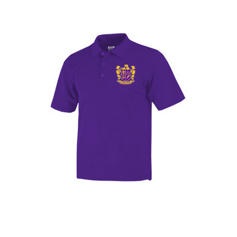 Edna Karr Youth Cotton Blend Polo Shirt - Poree's Embroidery