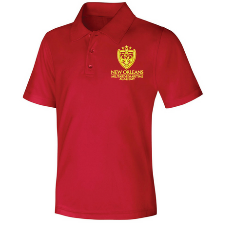 NOMMA Red Polo Shirts - Poree's Embroidery