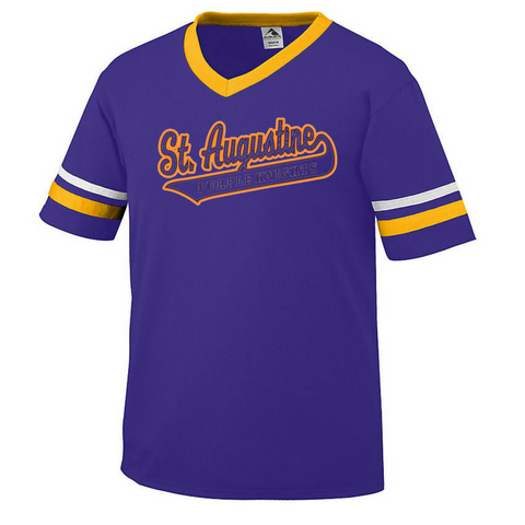 Fanwear-St. Augustine Swoosh Varsity T-Shirt - Poree's Embroidery