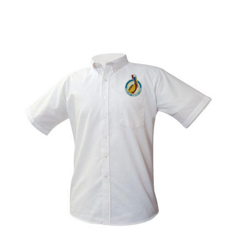 New Logo: Morris Jeff Adult Oxford Shirt