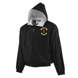 Phillis Wheatley Elementary School Hooded Jacket - Poree's Embroidery