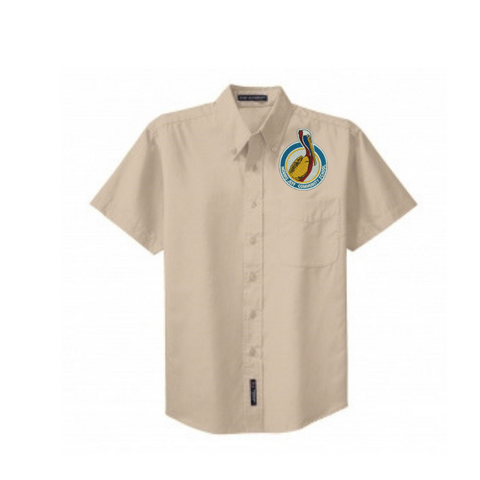 Morris Jeff Community High School Twill Shirts (Mens Cut) - Poree's Embroidery