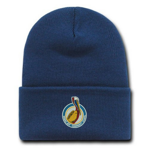 Morris Jeff Beanie Hat (2 Colors) - Poree's Embroidery