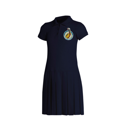Morris Jeff Community School Polo Dress (Pre K, K and 1st Grade Only) - Poree's Embroidery