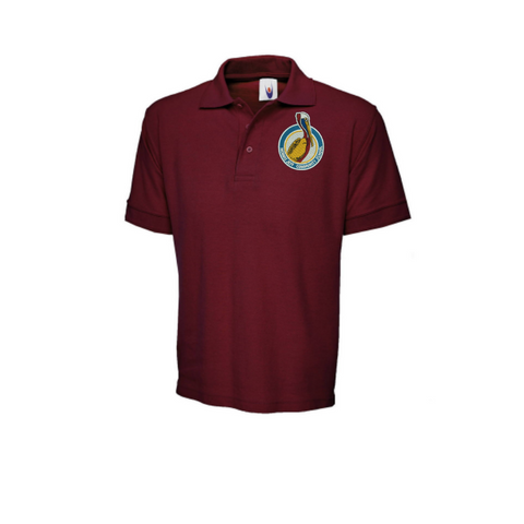 New Logo: Morris Jeff Community School Youth Polyester Polo (Middle School 6-8 Grades)