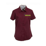 Morris Jeff Community High School Twill Shirts (Ladies Cut) - Poree's Embroidery