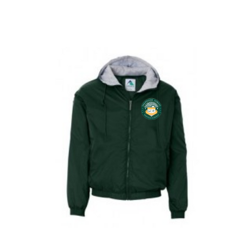 Einstein Charter at Sherwood Forest Hooded Jacket - Poree's Embroidery