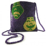 Mardi Gras Glass Bead Evening Bag