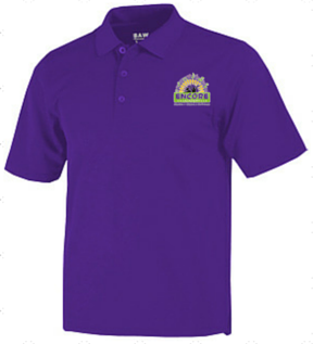 Encore Academy School Adult Polo Shirt - Poree's Embroidery
