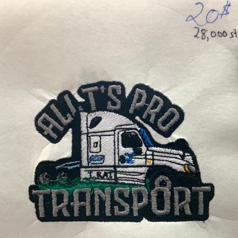All T's Pro Transport - Poree's Embroidery