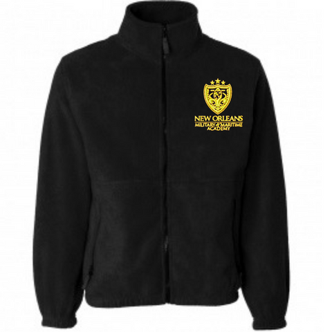 NOMMA Full Zipped Fleece Jacket - Poree's Embroidery