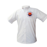 Sarah T. Reed High Oxford Shirt - Poree's Embroidery