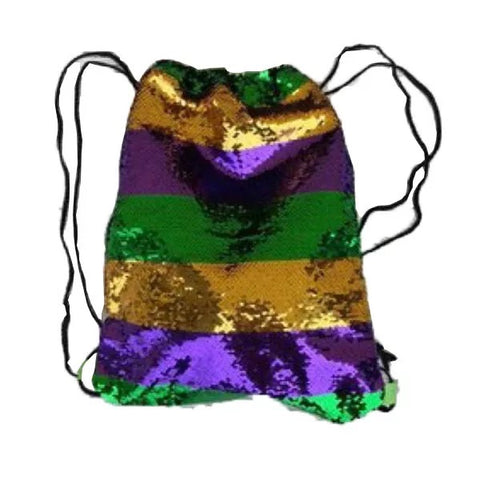 Mardi Gras Sequin Sling Bag