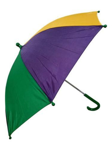Mardi Gras Jumbo Umbrella - Poree's Embroidery