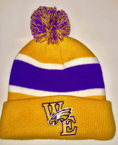 Warren Easton Pom Pom Beanie