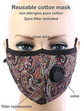 Fashion Forward Breathable Mask with filters - Poree's Embroidery